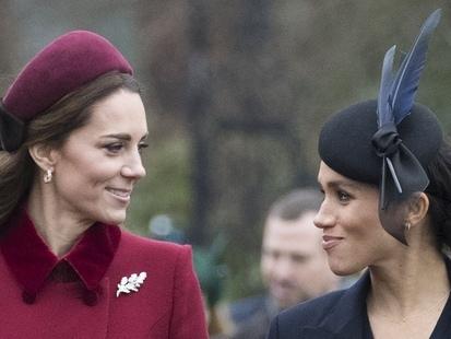 Les bookmakers en sont persuadés : Meghan Markle va accoucher le même jour que Kate Middleton