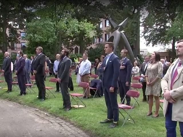 Veroordeelde Franse extremist op eerste rij Vlaamse 11 juliviering