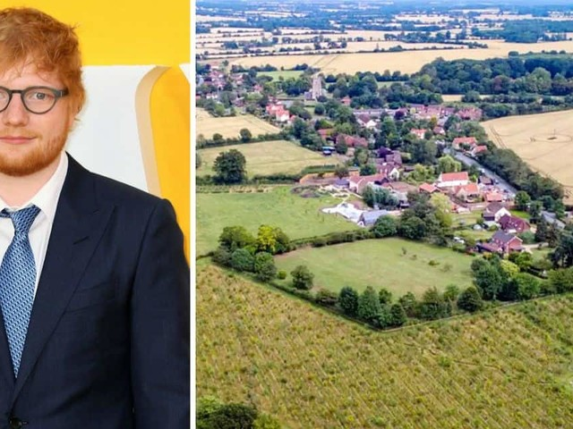 """Sheeranville"", le domaine confiné à 67 millions de la star de la pop Ed Sheeran"