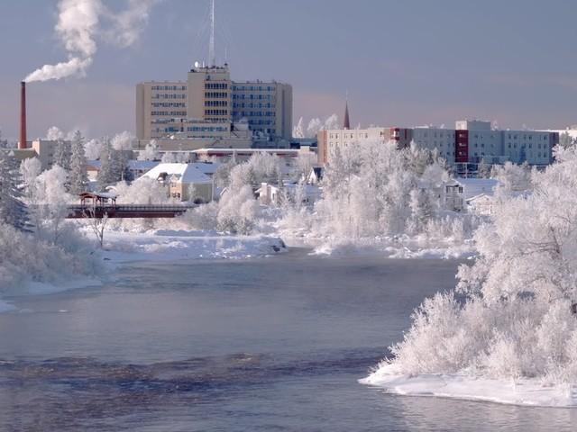 Notre ville Amos sous le Gîvre , Québec, Canada