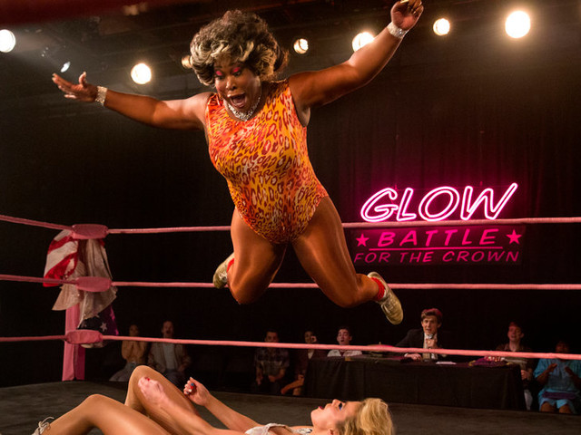 A 'GLOW' Star and Pro Wrestler Finds Art Imitating Life