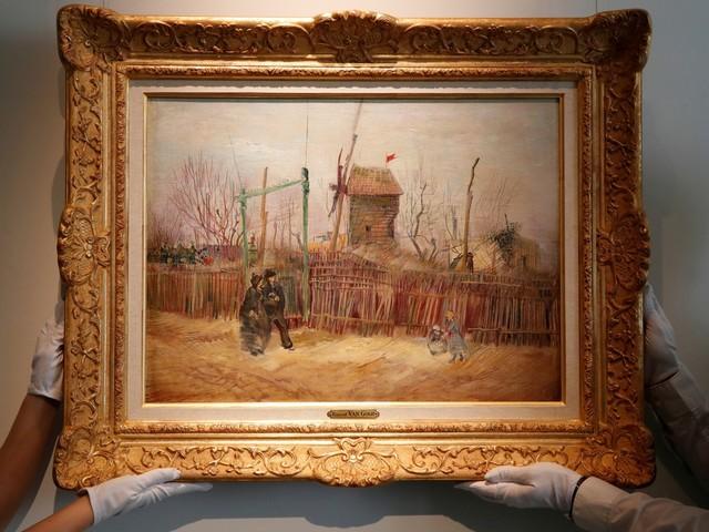 Schilderij van Van Gogh geveild voor ruim 13 miljoen euro