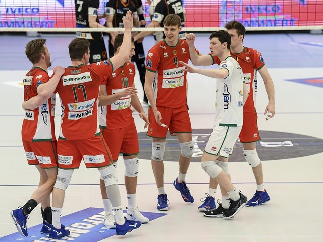 Maaseik is na winst bij Aalst bijna zeker van titelfinale in Euromillions Volley League