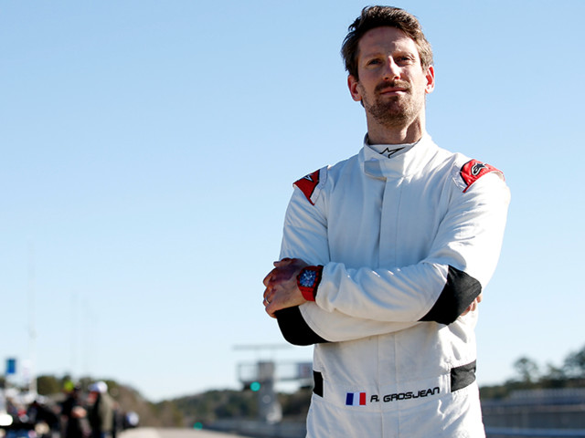 Premiers essais concluants pour Romain Grosjean en IndyCar
