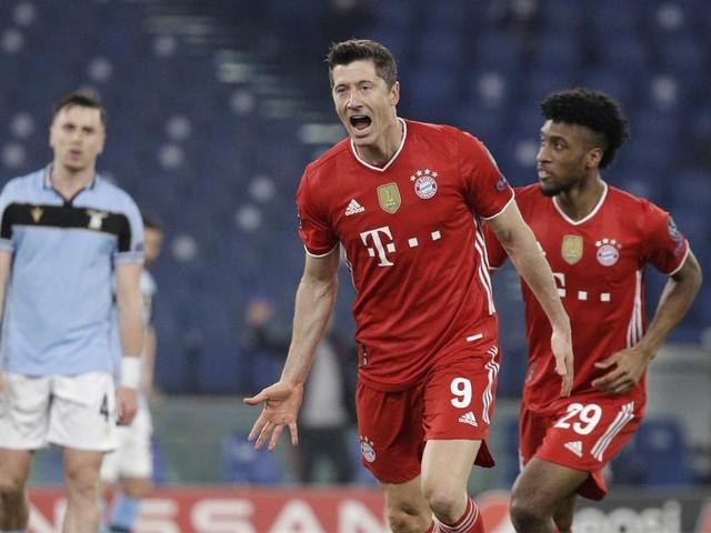 Titelverdediger Bayern dolt met Lazio en staat met anderhalf been in kwartfinales