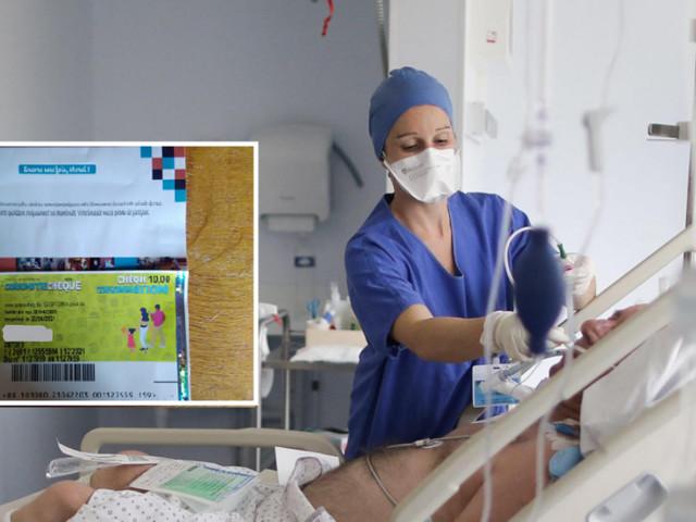 Natacha, infirmière à Charleroi, a reçu... 10€ de la part de son hôpital en remerciement pour son travail: «J'ai cru que c'était une blague»