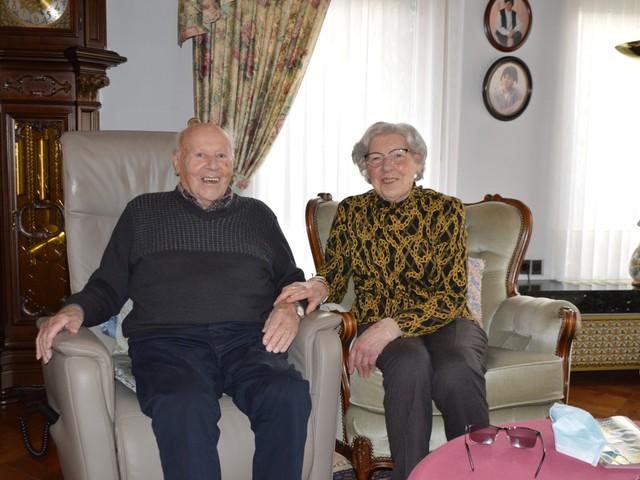 Voormalige uitbaters '14 Billekens' zijn 75 jaar getrouwd