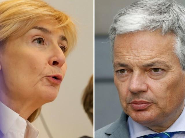Têtes de liste MR à Bruxelles: Françoise Schepmans à la Région, Didier Reynders au fédéral