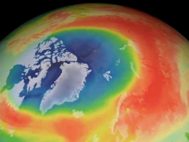 Pourquoi un trou inhabituel s'est-il formé dans la couche d'ozone en 2020 ?