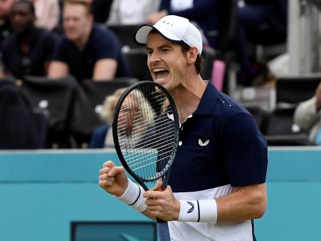 Andy Murray maakt na half jaar succesvolle comeback in het dubbelspel