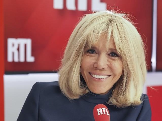 """Brigitte Macron raconte son quotidien sur RTL : """"On a fait un resto et on a déambulé"""""""