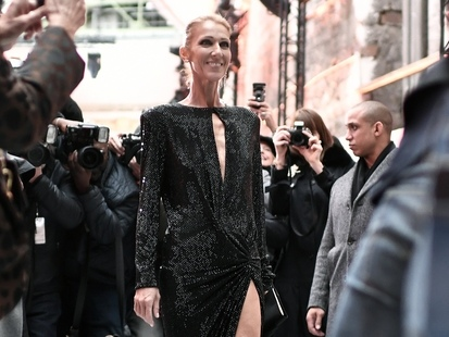 Céline Dion s'éclate depuis son arrivée à Paris