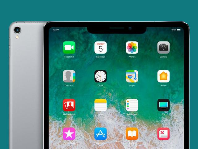 Un brevet d'Apple décrit un iPad avec une encoche en mode paysage