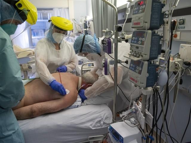Ziekenhuisopnames blijven records breken in België