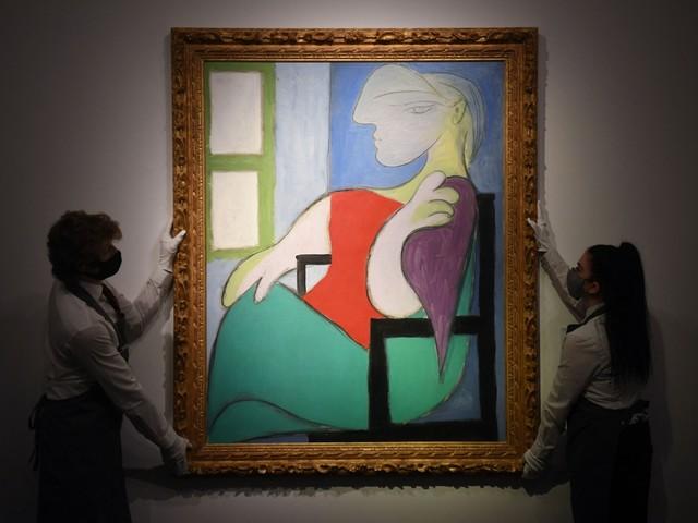 Schilderij Picasso geveild voor 85 miljoen euro