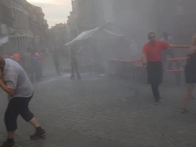 Une bonbonne de gaz prend feu lors du Doudou à Mons: plusieurs blessés sont à déplorer!
