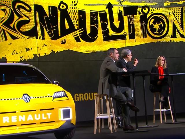 """Automobile : la Renault 5 doit """"démocratiser les voitures électriques"""", annonce le PDG"""