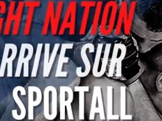 SPORTALL lance sa première offre payante avec « FIGHT NATION » dédié aux sports de combat