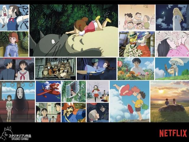 Découvrez le calendrier de diffusion sur Netflix de 21 films du Studio Ghibli !