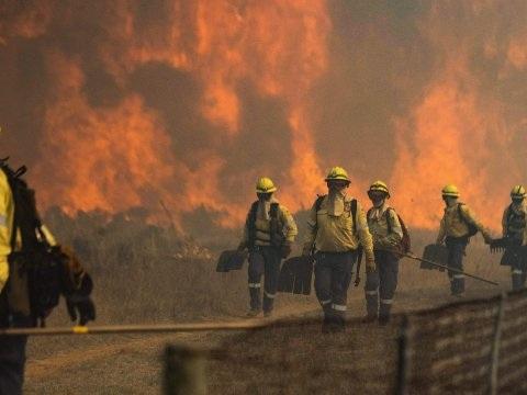 Brand op Tafelberg blijft woeden