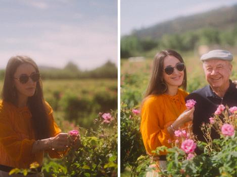 Dans les Champs (de fleurs) de Chanel à Pégomas