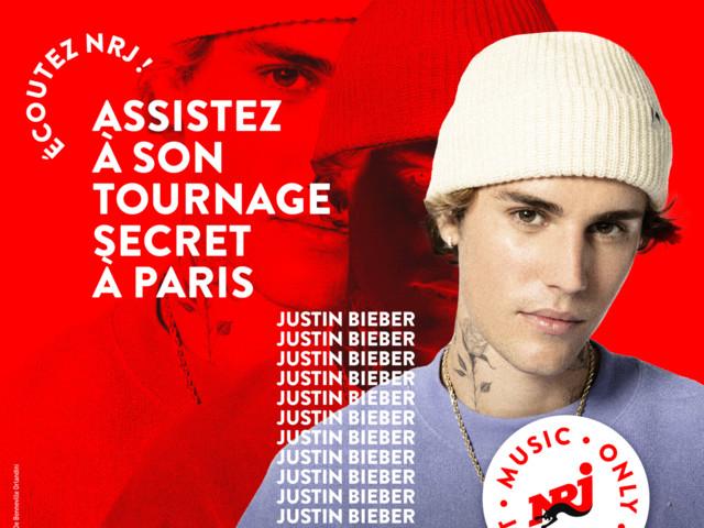NRJ propose à des fans de Justin Bieber d'assister à un tournage à Paris.