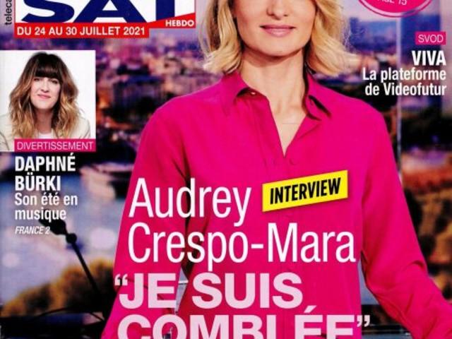 La une de 9 nouveaux numéros de la presse TV : Mylène Farmer, Un si grand soleil, Miss France, ...