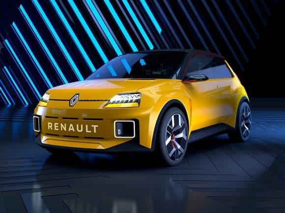 Renault dévoile une R5 100% électrique
