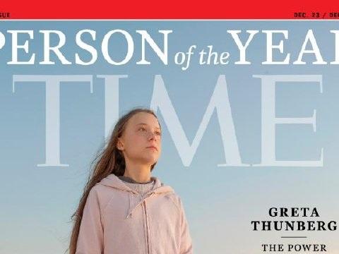 Greta Thunberg est la personnalité de l'année du magazine Time