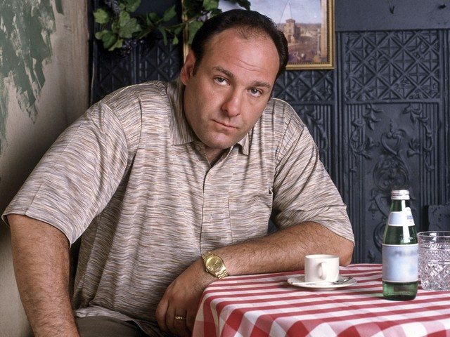 Zoon James Gandolfini speelt jonge Tony Soprano in Sopranos-film