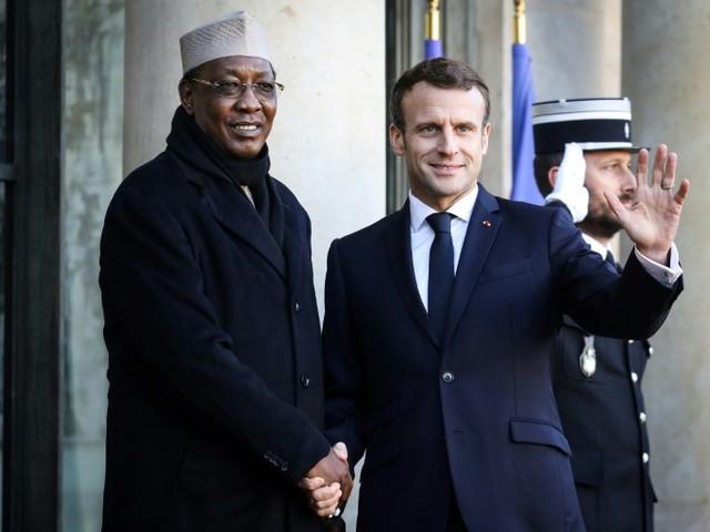 Tchad: dernier hommage à Idriss Déby, en présence d'Emmanuel Macron
