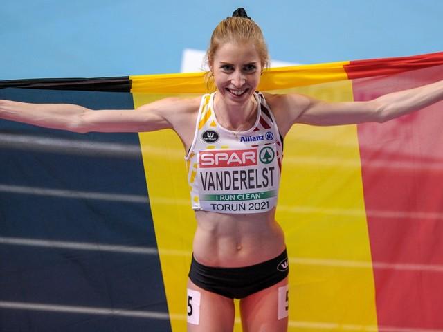 Elise Vanderelst verpulvert Belgisch record op 1.500 meter en plaatst zich voor Tokio