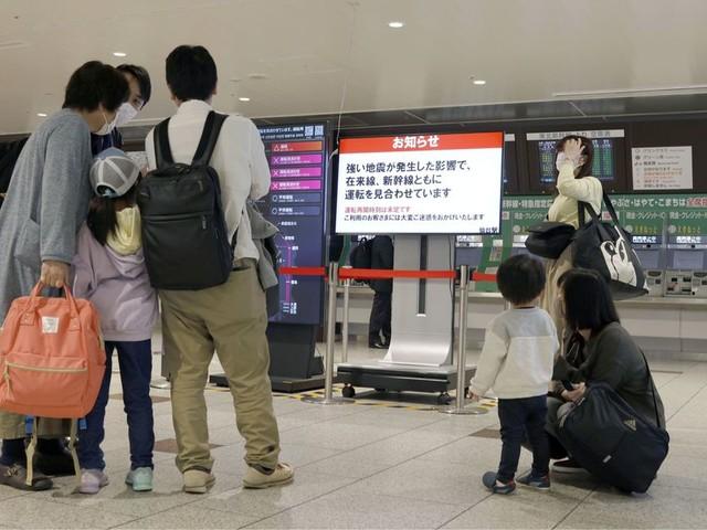 Zware aardbeving in noordoosten van Japan