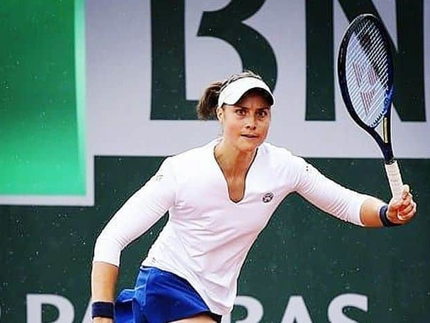 """Marie Benoit découvre les qualifications de Wimbledon : """"C'est la première fois que je joue sur du gazon"""""""