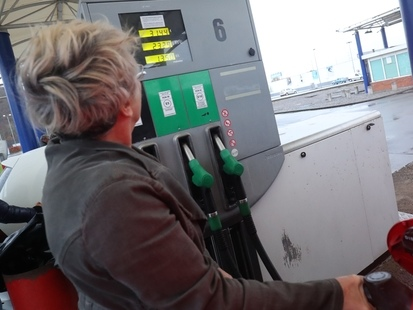 Le prix du diesel augmente à partir de mardi