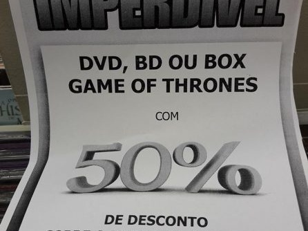 #DICA | Especial GAME OF THRONES!