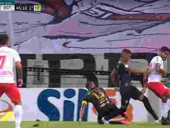 2 a 1 | Em jogo de três pênaltis, Bragantino surpreende e vence o Ceará no Castelão