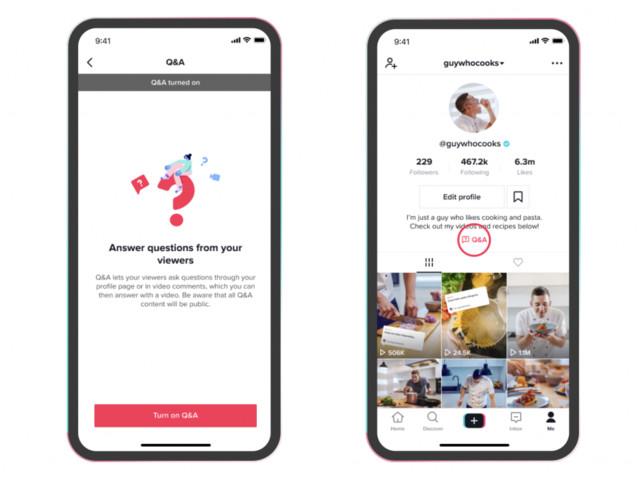 TikTok lança ferramenta de perguntas e respostas