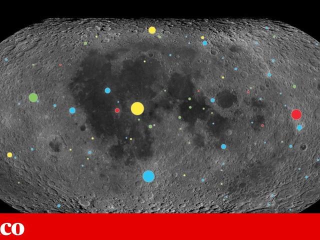 O que nos revelam as crateras lunares sobre a Terra?