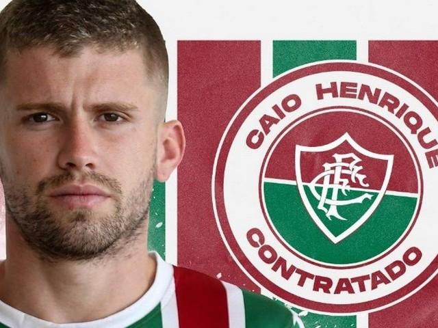 Fluminense confirma a contratação do meia Caio Henrique por empréstimo