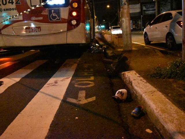 Criança morre após ser atropelada no corredor de ônibus em Campinas