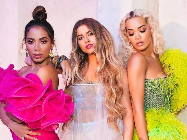 Anitta lança mais uma música em três línguas em parceria com Rita Ora e Sofia Reyes