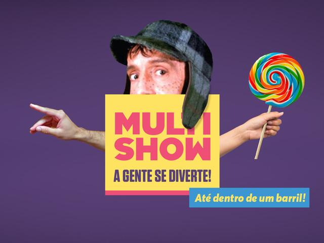 Globo muda as vozes do Chaves e Chapolin para exibição no Multishow
