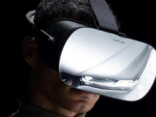 Varjo VR-1, o headset com resolução de olho humano e preço a perder de vista
