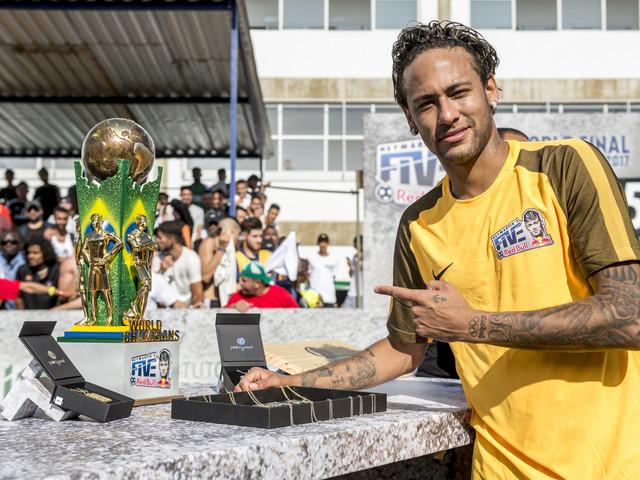 Pacaembu recebe pela primeira vez seletiva de torneio mundial de Neymar Jr