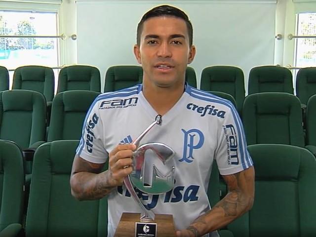 Troféu Mesa Redonda: Dudu é eleito o melhor segundo atacante do Brasileirão