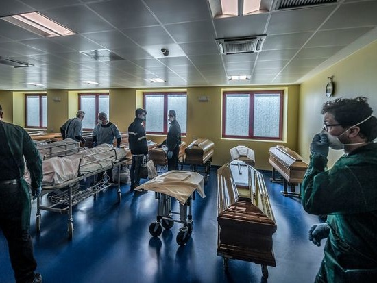 URGENTE: Itália tem 10 mil mortos vítimas de coronavírus
