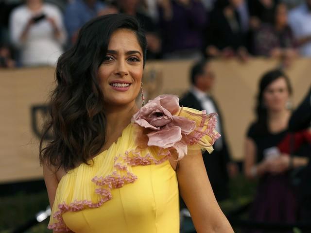 """Harvey Weinstein também é o meu monstro"", denuncia actriz Salma Hayek"