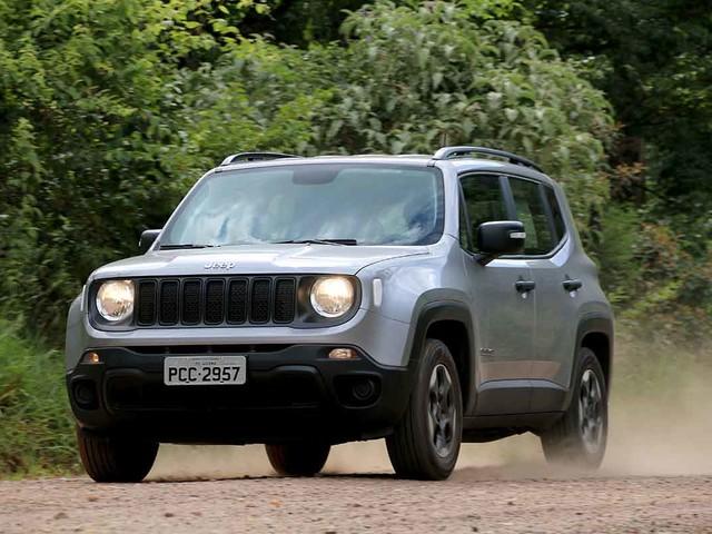 Mercado: Jeep Renegade aparece em quinto na parcial de março