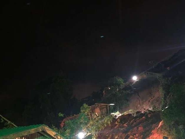 Fortes chuvas deixam quatro mortos em Campos do Jordão
